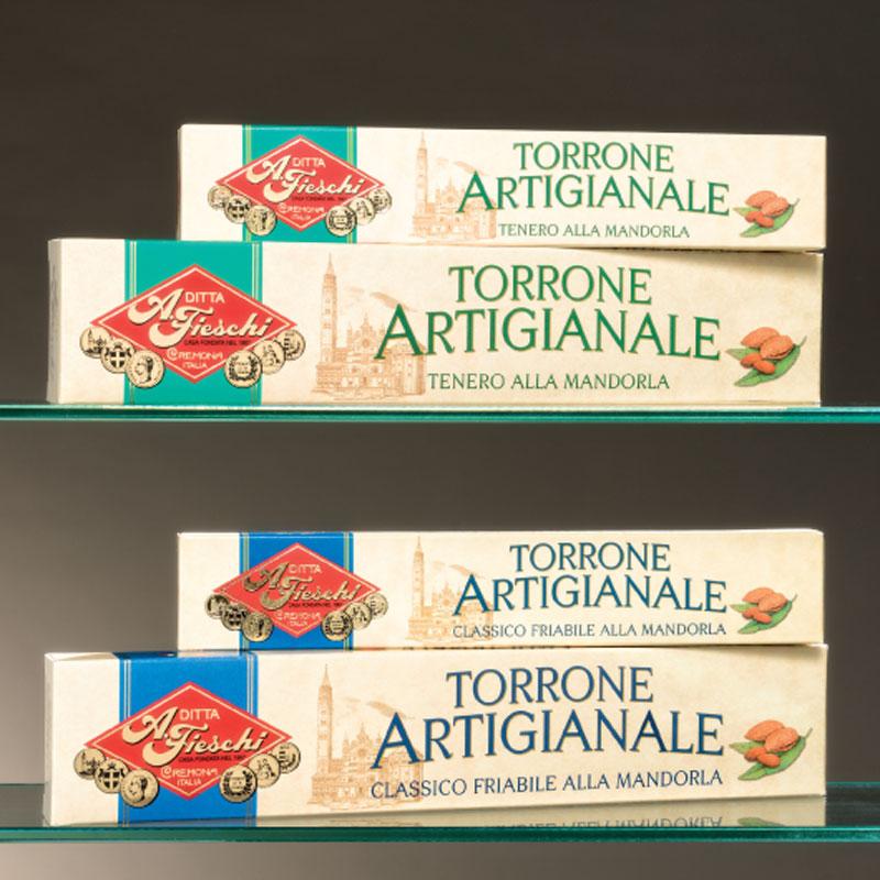 Artisan almond nougat Cremona - Fieschi 1867