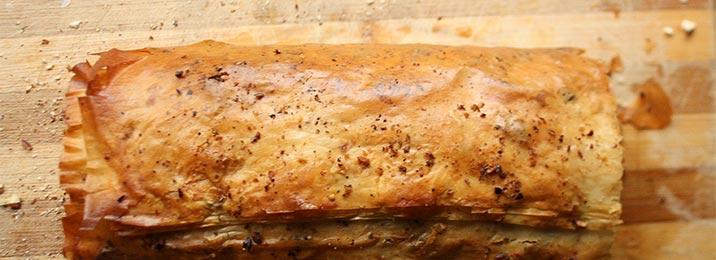 Strudel di patate con Mostarda di Cremona